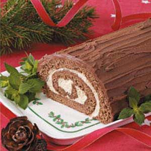 yule log recipe easy