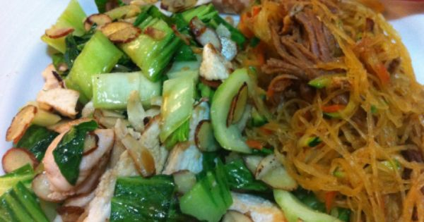 Fast Paleo » Stir Fried Chicken & Noodles - Paleo Recipe ...