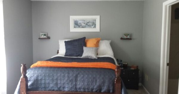The New Master Bedroom Benjamin Moore Platinum Gray On