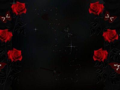 Red Rose Frame Design Ppt Backgrounds Rose Frame Phone Background Patterns Frame Design