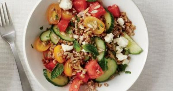Feta, Grains and Berries on Pinterest