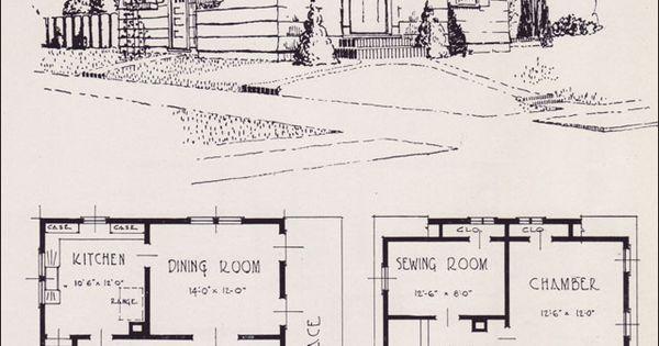 Modernize Colonial 1926 Universal Plan Service No 608 House Plans Portland Homes
