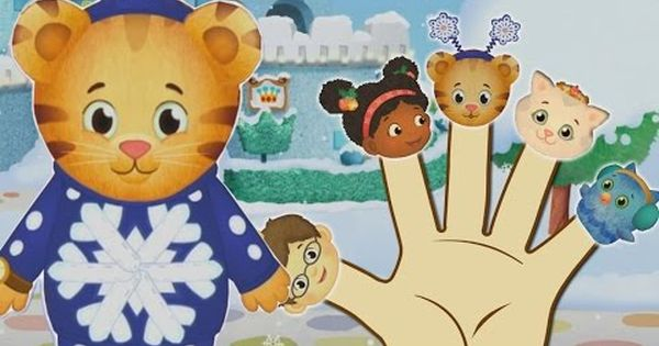 Daniel Tiger Winter Finger Family Nursery Rhymes And More Lyrics Nursery Rhymes Youtube More Lyrics