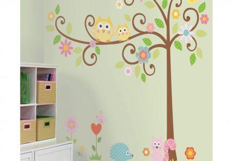 Scroll Tree Mega Pack Giant Wall Stickers - $59.95 : Bellas Little
