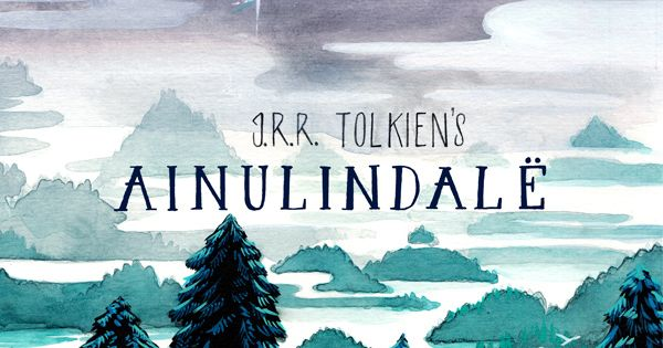 The most beautiful illustrated adaptation of J.R.R. Tolkien's Ainulindalë from the Silmarillion.