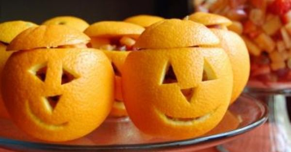 17 Healthy Halloween Recipes from Around the Web | include kiwi Frankenstein,