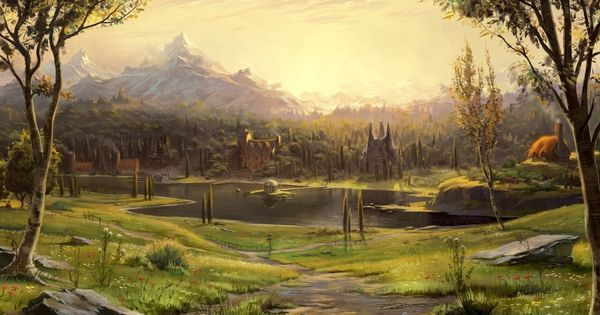 Albion From Fable Iii 36 Beautiful Landscapes That Prove That Video Games Are Art Game On