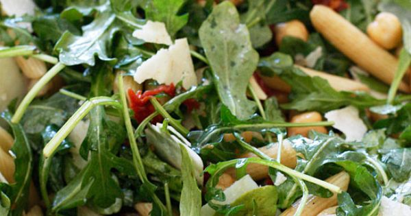 Arugula salad, Sun dried tomatoes and Penne on Pinterest