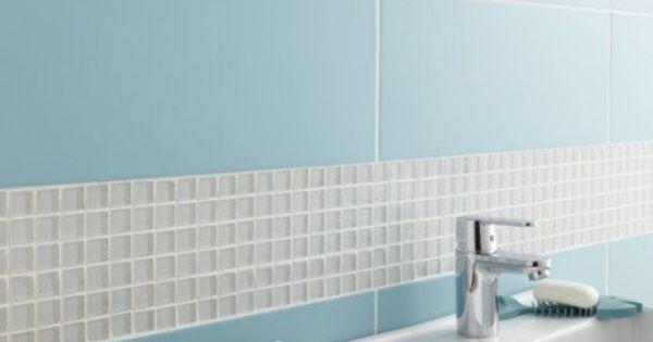 At leroy merlin fa ence mur bleu atoll n 5 loft x for Carrelage 55x55