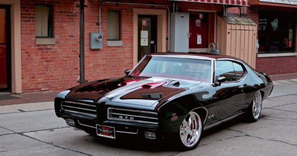 Sweet '69 Pontiac GTO! Whether you're interested in restoring an old classic