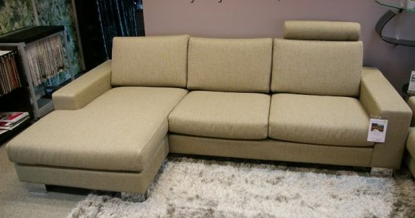 Ex display sits quattro 2 seater with chaise sofas north for Sofa quattro