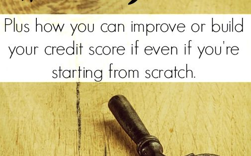 how to build credit score from zero