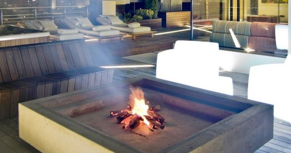 Industrial Loft Apartment in Kiev - with a FIREPIT!!!