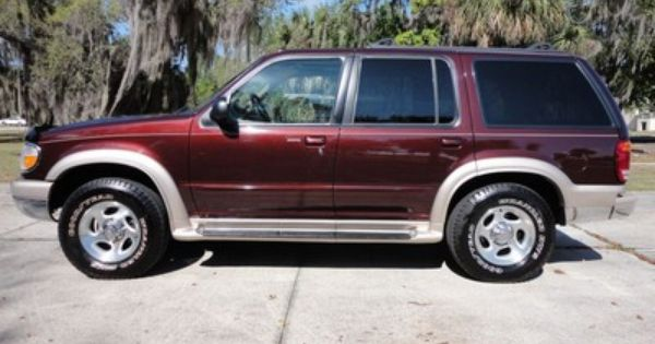 1999 Ford Explorer Eddie Bauer Edition Ford Explorer Ford Suv Ford Lincoln Mercury