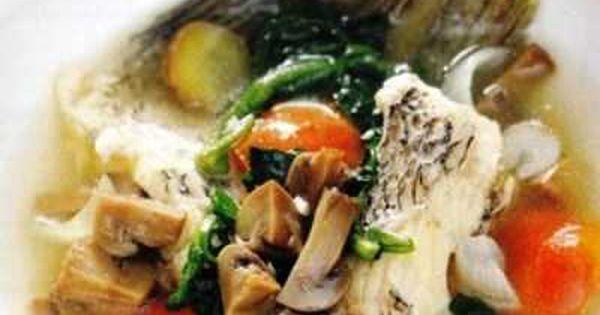 Sup Ikan Nila Yuk Kita Belajar Cara Membuat Video Resep Sup Ikan Nila Kemangi Kuah Bening Asam Pedas Khas Cianjur Untuk Balita Atau Ba Resep Sup Sup Ikan Sup