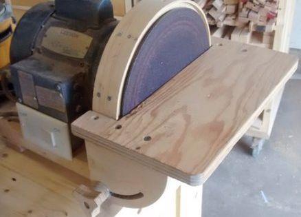 10 disc sander garage workshop pinterest for 10 table saw sanding disc