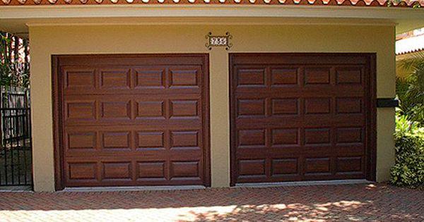 Faux Painting A Garage Door To Look Like Wood Tutorial