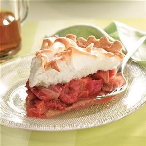 Strawberry Rhubarb Meringue Pie Desserts Rhubarb Meringue Rhubarb Meringue Pie