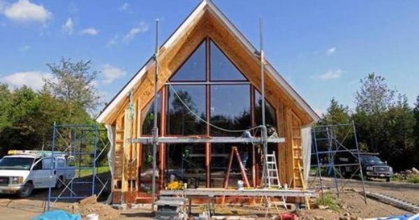 Timberline Panel Company Sip A Frame Cabin Pinterest