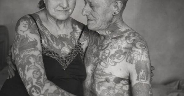 Photo by legendary tattooer Herbert Hoffman. The argument that you'll regret your