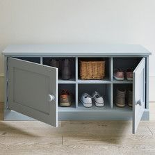 Hallway Storage Shelving The Dormy House Bench With Shoe