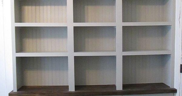 une vraie biblioth que int gr e sur une base rast 50 bureaux tag res et bricolage. Black Bedroom Furniture Sets. Home Design Ideas