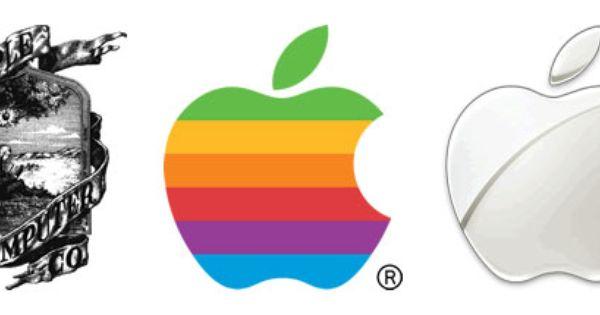 Apple logo evolution : Design-o-mite : Pinterest : Logos, Apple logo ...