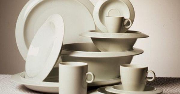 Bavero tableware produced by alessi achille castiglioni - Alessi dinnerware sets ...