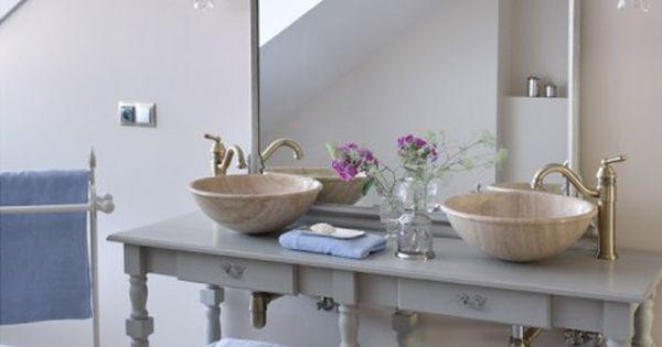 specchio a balcone shabby : ... .com Bathrooms Pinterest Mobili, Shabby chic e Bagni romantici
