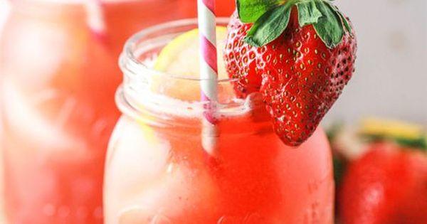 limonade selber machen 4 trend rezepte mit zitrone erdbeer oder ingwer pinterest selber. Black Bedroom Furniture Sets. Home Design Ideas
