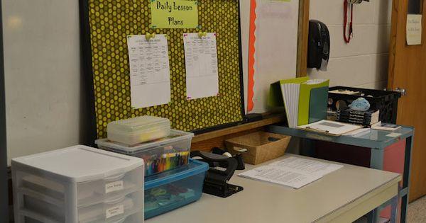 Classroom organization tips for high school teachers!