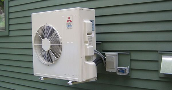 A Ductless Heat Pump Air Conditioner Is A System That Circulates