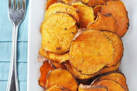 Baked Sweet Potato Fries Sweet Potato Recipes Food Sweet
