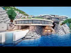 MINECRAFT TUTO MAISON MODERNE !! :) - YouTube | Minecraft ...