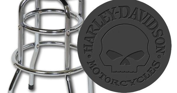 Harley Davidson 174 Skull Bar Stool Harley Davidson Gifts