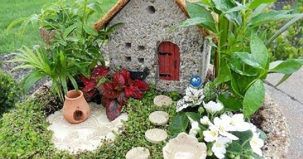 C mo hacer un jard n en miniatura paso a paso ideas para for Bricolaje y jardin