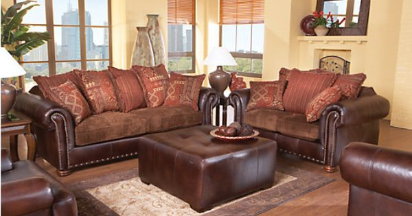Shop for a prescott valley 7 pc livingroom at rooms to go for Find living room furniture