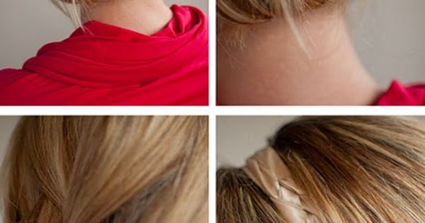 Pin tucked braid on Hair Romance
