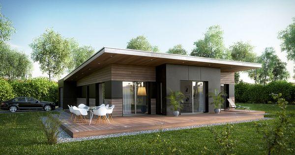 Architecture 3d maison bois ext rieur anoukis for Exterieur maison 3d