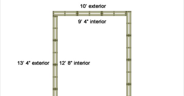 Construct Your Own House: Tiny Pallet House Plans | Pallet
