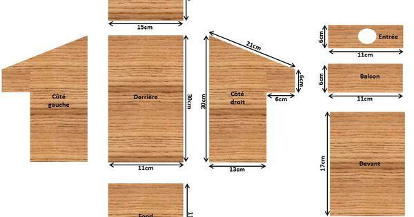 plan nichoir balcon cabane oiseaux pinterest nichoirs balcons et plans. Black Bedroom Furniture Sets. Home Design Ideas
