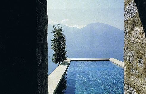 pool in the mountains, italy travel photography places views holiday vacation wow