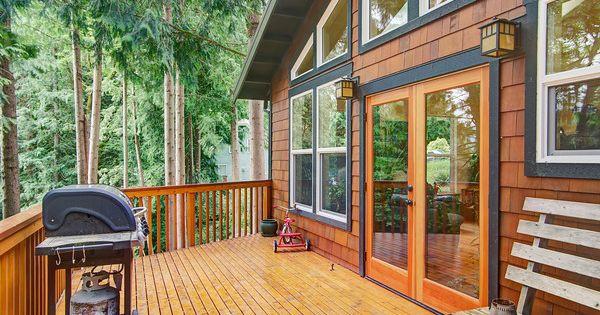 Cedar Shake Siding With Black Trim House Trim Exterior Cedar Homes Lake Houses Exterior