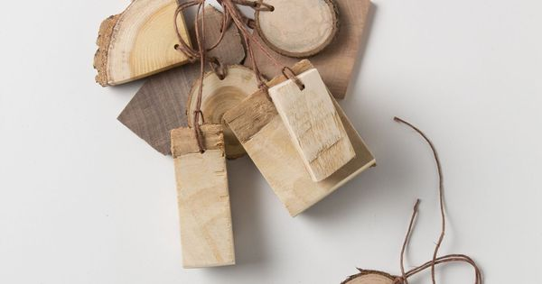 The Heritage Tree Tree Bark Gift Tag Set