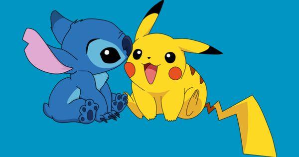 Pikachu Amp Stitch Cutteee Pinterest Stitch Lilo