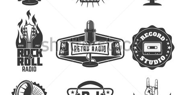 vector retro x badge and vintage hipster logo template set