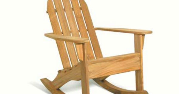 Rocking Chairs Are A Classic This Teak Chair Is From Arthur Lauer