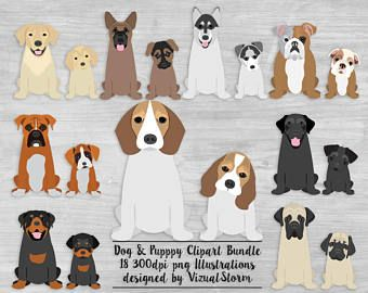 Front Of Dog Butts Clipart Graphics Sitting Dogs Illustrations