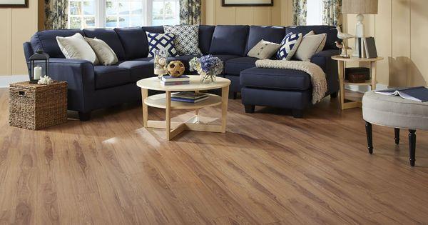 Dream home nirvana plus crystal springs hickory laminate for Nirvana plus laminate flooring installation