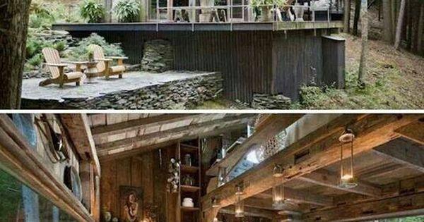 Houses Pinterest Wooden Houses